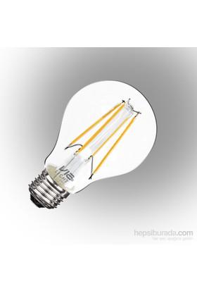 Vialicht 7W (60W) Led Filament A60-COG E27 Ampul 840 lmn 2700K DİM