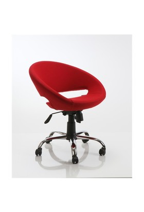 Kombin Mobilya Estetika Çalışma Koltuğu - Kırmızı