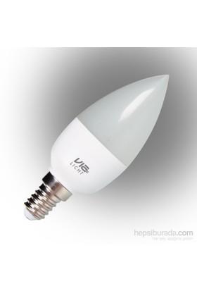 Vialicht 5,5W (40W) Led Mum Ampul E14 470lm 2700K