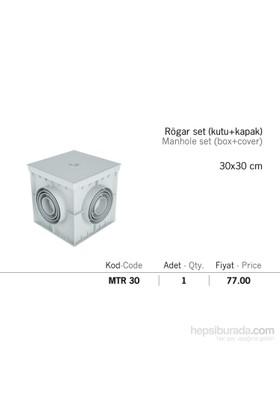 Mena Rögar Set Kutu Ve Kapağı 30*30Cm