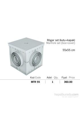 Mena Rögar Set Kutu Ve Kapağı 55*55Cm