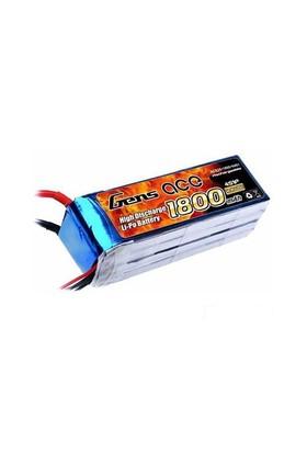 Gens Ace 1800Mah 14.8V 25C 4S1p Lipo Batarya