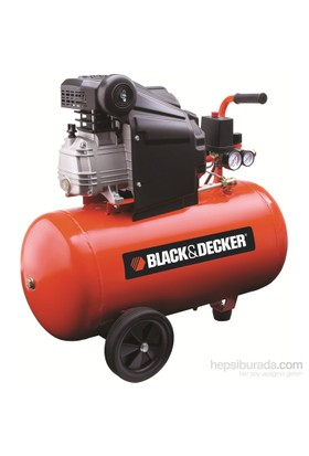 Black&Decker Bd205/50 Kompresör 2hp 50lt Tank Kapasitesi