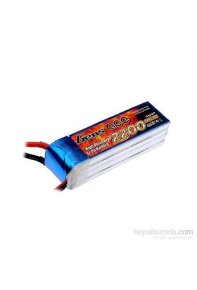 Gens Ace 2200Mah 14.8V 30C 4S1p Lipo Batarya