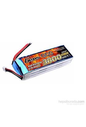 Gens Ace 3800Mah 25C 11.1V 3S1p Lipo Batarya