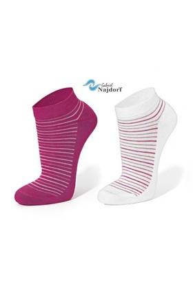 Gabriel Najdorf Kısa Spor Çorap 2'Li Takım