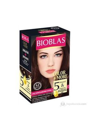 Bioblas 4.4 Kestane Bakır 50 Ml. Saç Boyası