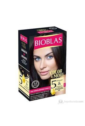 Bioblas 3.0 Koyu Kestane 50 Ml. Saç Boyası
