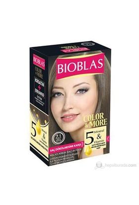 Bioblas 7.1 Sahra Kumral 50 Ml. Saç Boyası