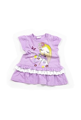 Zeyland Kız Çocuk Lila Elbise - K-61M2LIU36