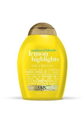Organix Lemon Highlights Shampoo 385 Ml Sarı Saçla