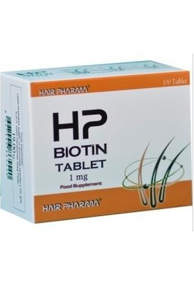 Hp Biotin Tablet 1Mg 100Tablet