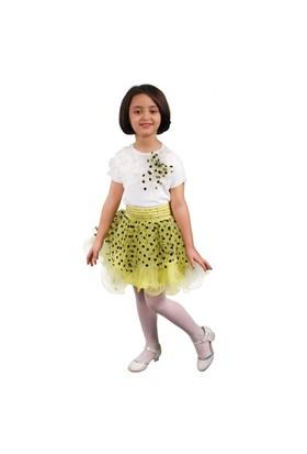 Modakids 23 Nisan Kız Çocuk Tütü Etekli 3'Lü Takım 037-23M10-001