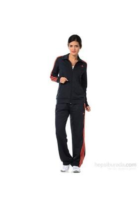 Adidas D89815 Ess 3S Knit Suit Bayan Eşofman Takımı
