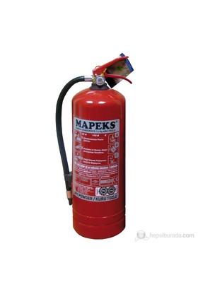"""Mapeks Yangın Söndürücü - ''6 Kg"""". Tsen 615 Abc 4 Yıl Garantili"""