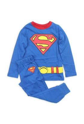 Modakids Erkek Çocuk Süpermen Pijama Takım 019-4550-015