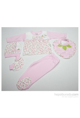 Nenny Baby Nenny Baby 5 Li Hastane Çıkışı T-717 Pembe