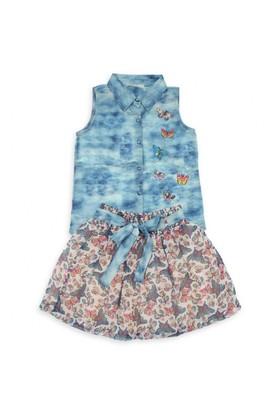 Modakids Nk Kids Kız Çocuk Bulutlu Takım 002-11812-015