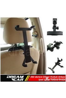 Dreamcar Universal Tablet 360 Derece Döner Koltukarkası Tutucu Aparat 01624