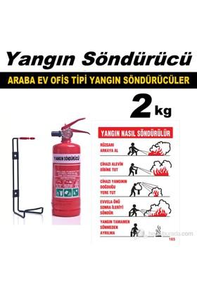 Yangın Söndürme Cihazı Ev Araba Ve Ofis Tipi 2 Kg 40095