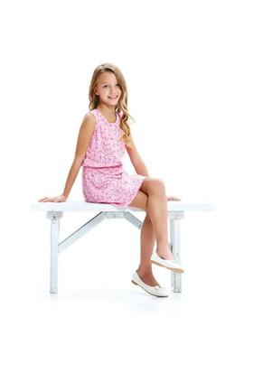 Modakids Wonder Kids Kız Çocuk Çiçekli Elbise 010-1509-021