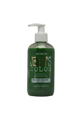 Acacia Jeans Color Saç Boyası Zümrüt Yeşili 250 Ml