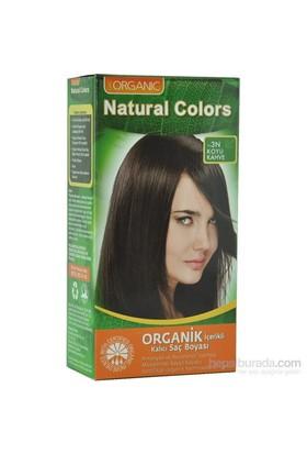 Organic Natural Colors 3N Koyu Kahve Saç Boyası