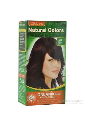 Organic Natural Colors 4Rr Koyu Kızıl Saç Boyası