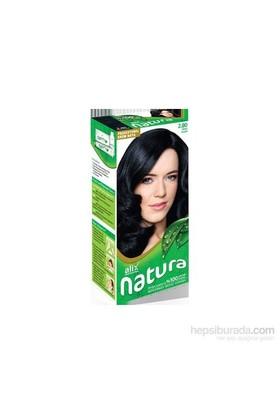 Alix Natura Kit Saç Boyası 2.80 Mavi Siyah