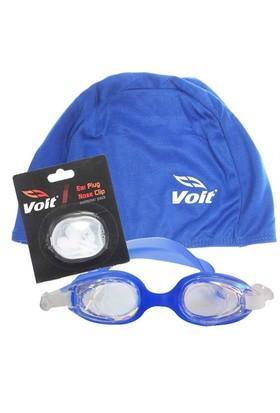 Povit 2323 Yüzücü Gözlüğü Voit Bez Bone Voit Kulak Burun Tıkacı