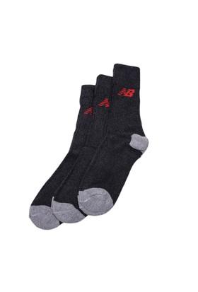 New Balance Çorap Beyaz 3-10-00021-Red