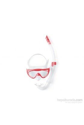 Speedo Glide Snorkle Set Pin Çocuk Şnorkel Set
