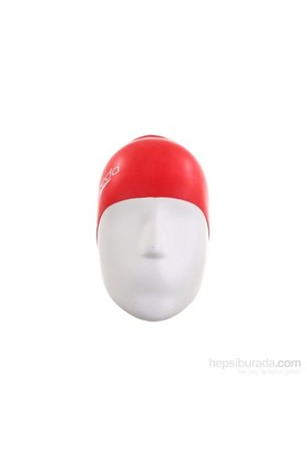Speedo 8-709900004 Moulded Silicone Cap Erkek Bone