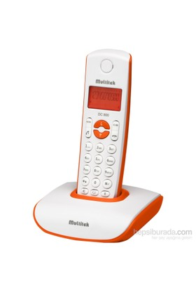 Multitek DC 800 Dect Telefon - Turuncu