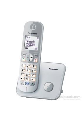 Panasonic Dect Telefon KX-TG6811 (Elektrik Kesintisinde Konuşabilme) Beyaz