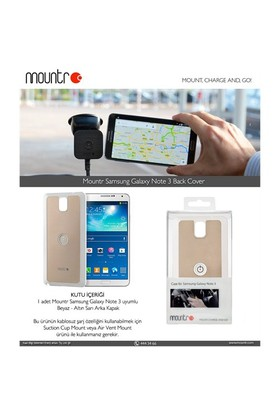 Mountr BACKCOVER Samsung Galaxy Note 3 N9000 Gold Arka Kapak -CO1-N3A