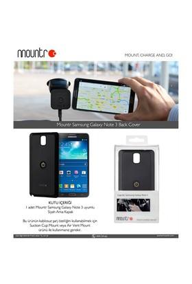 Mountr BACKCOVER Samsung Galaxy Note 3 N9000 Siyah Arka Kapak - CO1-N3B