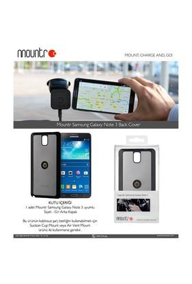 Mountr BACKCOVER Samsung Galaxy Note 3 N9000 Grey Arka Kapak - CO1-N3G