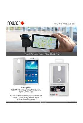 Mountr BACKCOVER Samsung Galaxy Note 3 N9000 Silver Arka Kapak - CO1-N3S