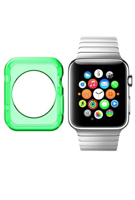 Case 4U Apple Watch Silikon Kılıf Yeşil (42mm)
