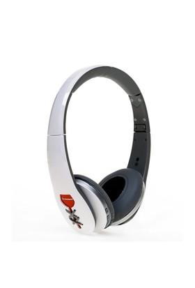 Lenovo W870 Bluetooth Kablosuz Mikrofonlu Kulaklık Beyaz - 888014543