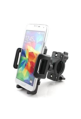Microsonic Universal Bisiklet ve Motosiklet Telefon Tutucu (Tüm Modellerle Uyumlu) - CH120-BK-UNI