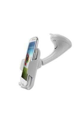 Microsonic Extreme Grip Universal Araç içi Telefon Tutucu (Tüm Modellerle Uyumlu) Beyaz - CH120-EXT-
