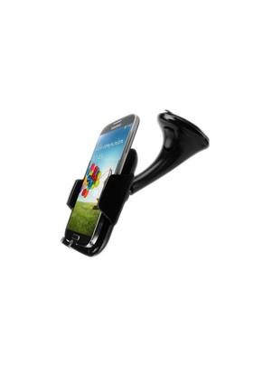 Microsonic Extreme Grip Universal Araç içi Telefon Tutucu (Tüm Modellerle Uyumlu) Siyah - CH120-EXT-