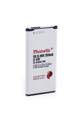 Phonetic Samsung Galaxy S5 Mini Batarya Pil