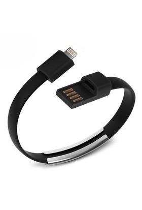 Codegen Apple iPhone 5/6/6s serisi uyumlu Bileklik Şarj Data Kablosu Siyah-599010223