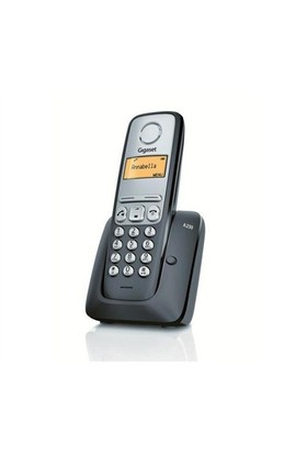 Gigaset A230 Dect Telefon Siyah