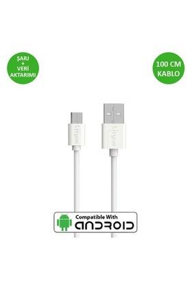 Lityus Micro Usb Kablo (Beyaz) - AKLDCS0202