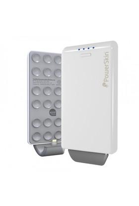 Powerskin Pop'n Apple iPhone 5 Şarjlı Kılıf Beyaz