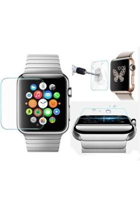 Microcase Apple Watch 38 Mm Tempered Glass Cam Ekran Koruma